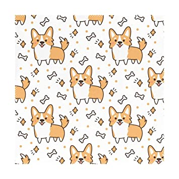 fe60ad062edf Amazon.com: LoveBea Cute Funny Cartoon Fox Placemats Table Place Mat ...