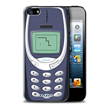 huge selection of dcba3 3144a Stuff4 Phone Case/Cover for Apple iPhone 5/5S / Blue Nokia 3310 ...