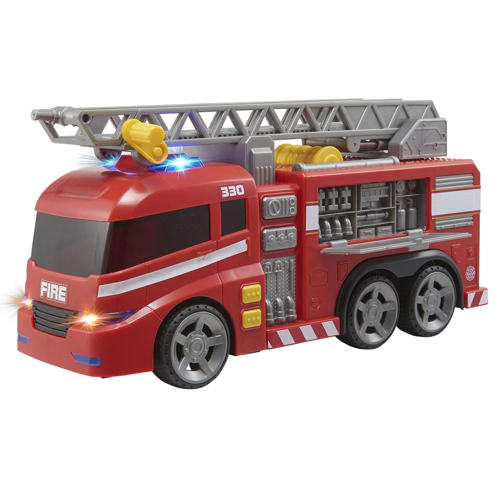 Teamsterz Large Light & Sound Fire Engine   Kids Emergency Toy Vehicle Fire Truck Great For Children Aged 3+