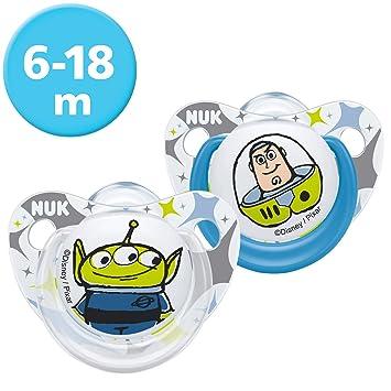Amazon.com: NUK Disney Pixar Toy Story Trendline - Chupete ...