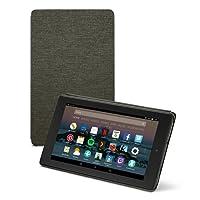 vtraveler.net Fire 7 Tablet Case (7th Generation, 2017 Release), Charcoal Black