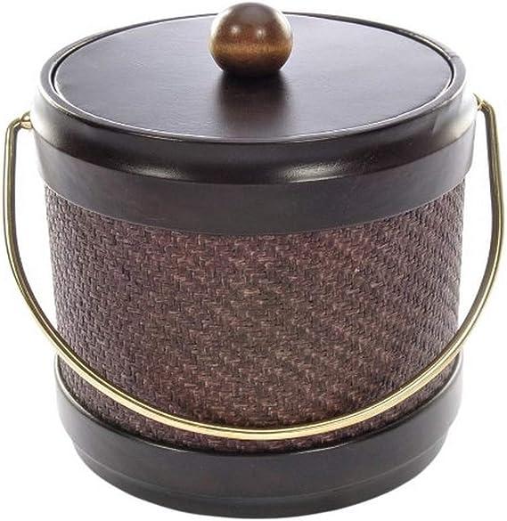 3-Quart Mr Ice Bucket 951-1 Walnut Woodgrain Ice Bucket