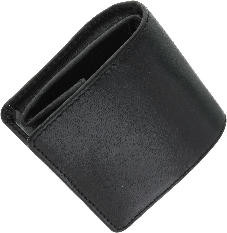 Visconti Bolsa de Bandeja de Cuero para Monedas 421 Marr/ón