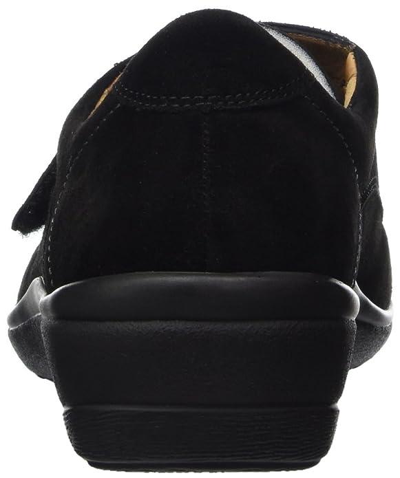 Ganter Sensitiv Helga-H, Mocasines para Mujer, Negro (Schwarz 01000), 38 EU