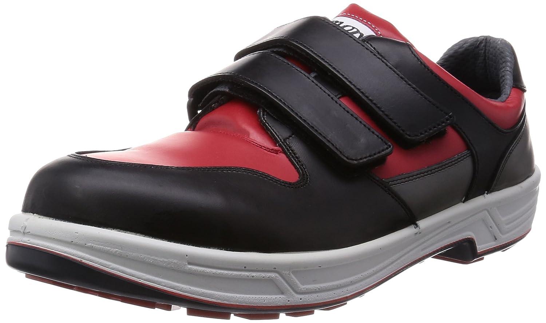 [シモン] 安全靴 短靴 マジック 8518 B003MLUIYW 24.0 cm 3E|アカ/クロ