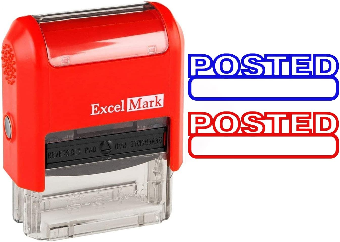StampExpression Red Ink Credit Office Self Inking Rubber Stamp A-5250