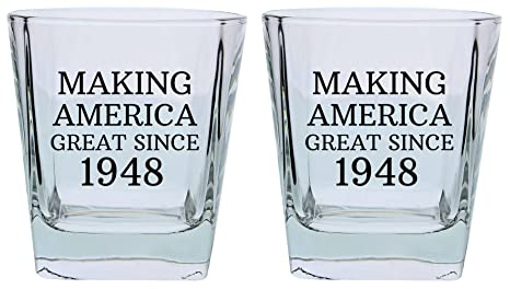 70th Birthday Gifts For Grandpa Grandma Making America Great Since 1948 Republican Conservative Party