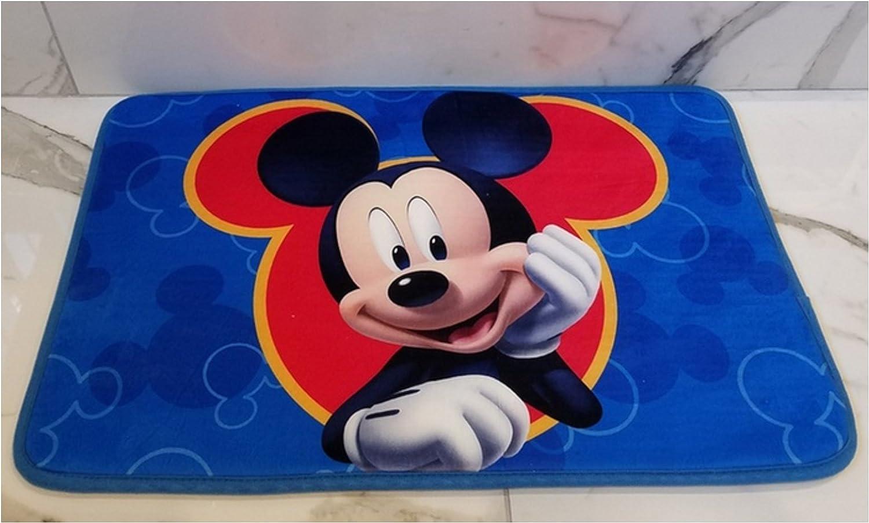 FOHOG All Disney Marvel Product 17 x 24 inch Memory Foam Mat or 54 x 80 inch Super Soft Area Rug Non Slip Backing Kids Toddler kindermat Bath Bed Living Star Wars, 17x24 Memory Mat