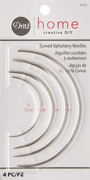 """7/"""" Hand Sewing Curved Upholstery Needle Upholsterers Needle 17.5cm"""