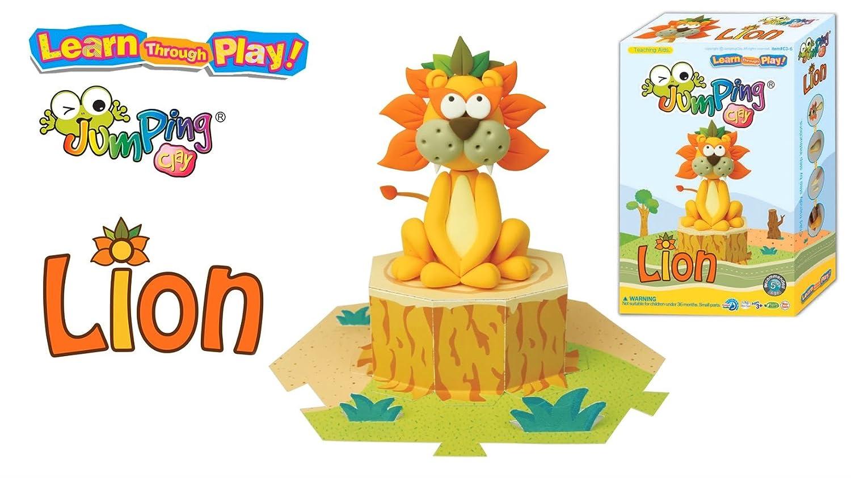 Jumping Clay Kinderknete, C24-6 Savanna Series Set Lion B00YF8QNG8 | | | Starke Hitze- und Abnutzungsbeständigkeit  bc24f6