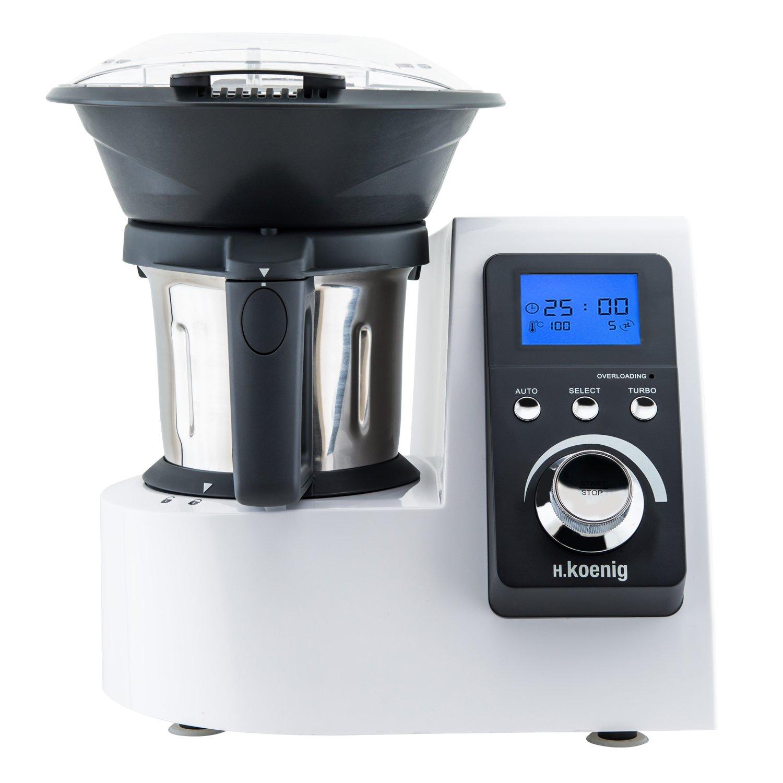 H Koenig HKM1032 Robot Culinaire Chauffant Multi Fonctions 1230W