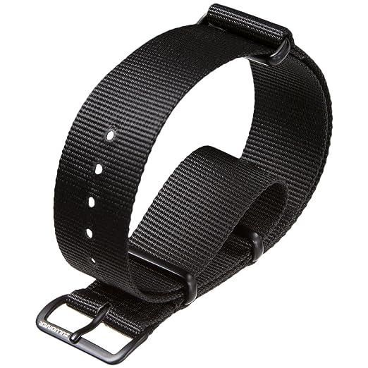 99 opinioni per NATO G10 ZULUDIVER®- Cinturino militare, in nylon, colore: nero, scelta di