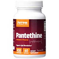 Jarrow Formulas Pantethine, Supports Lipid Metabolism, 450 mg, 60 Softgels