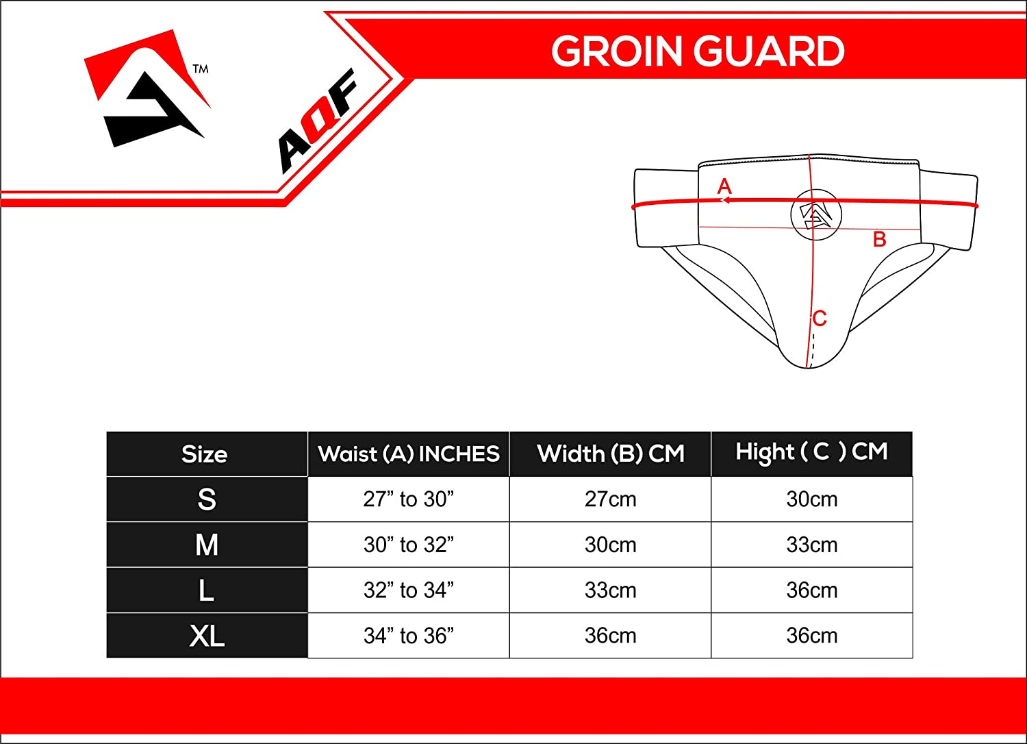 AQF Protector de Groin Guard Boxing MMA Abdominal Groin Cup Jock Strap Cup Muay Thai Abdominal Protector Adulto Shock Supporter