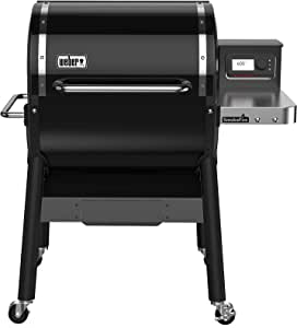 Weber 22510201 SmokeFire EX4 (2nd Gen) Wood Fired Pellet Grill, Black