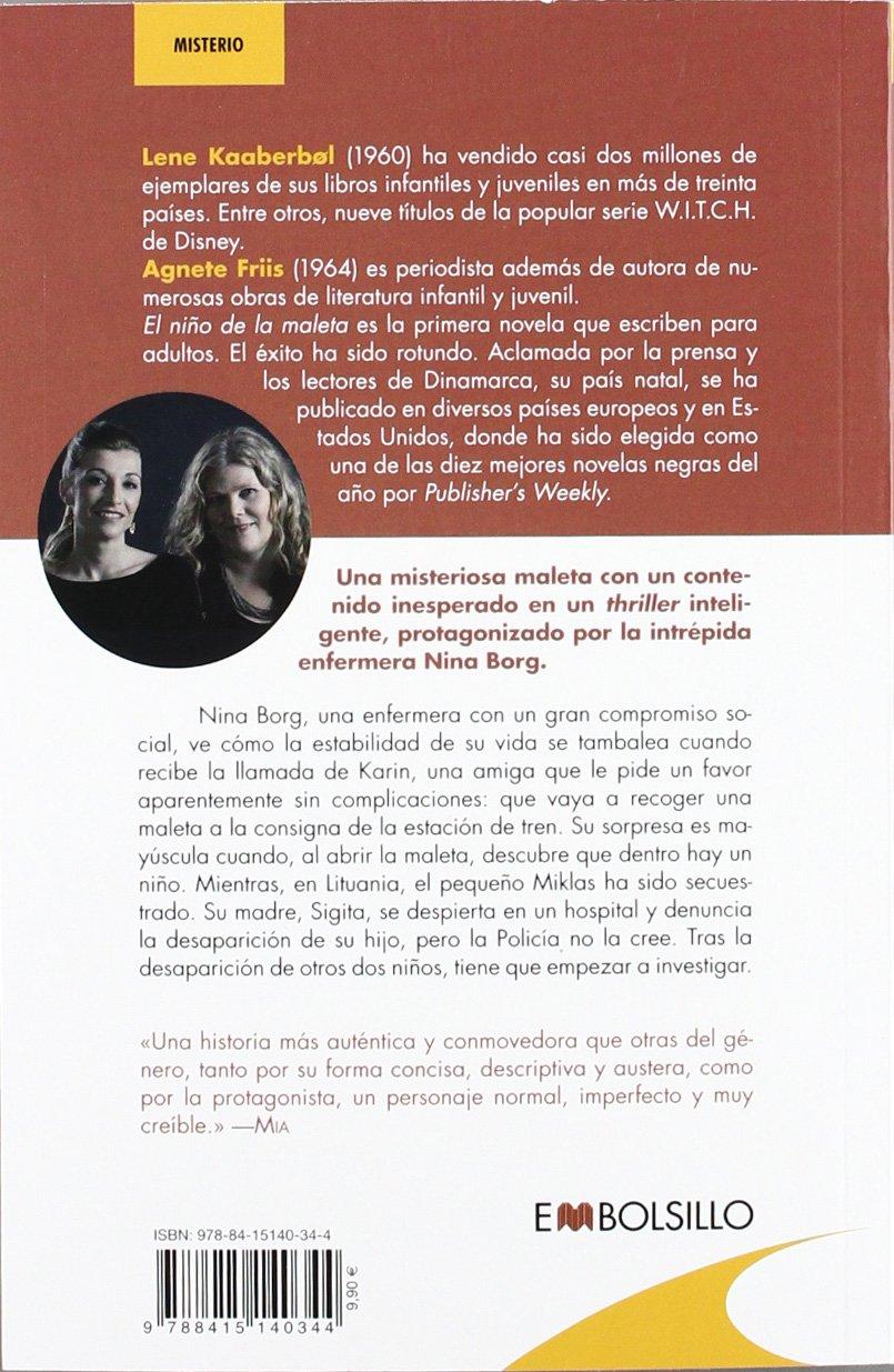 El niño de la maleta: Agnete Friis, Lene Kaaberbol: 9788415140344: Amazon.com: Books