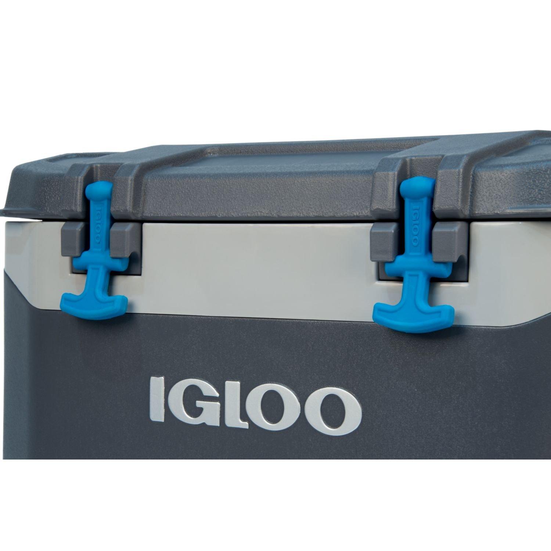 Igloo BMX 52 quart Cooler Carbonite Gray//Carbonite Blue