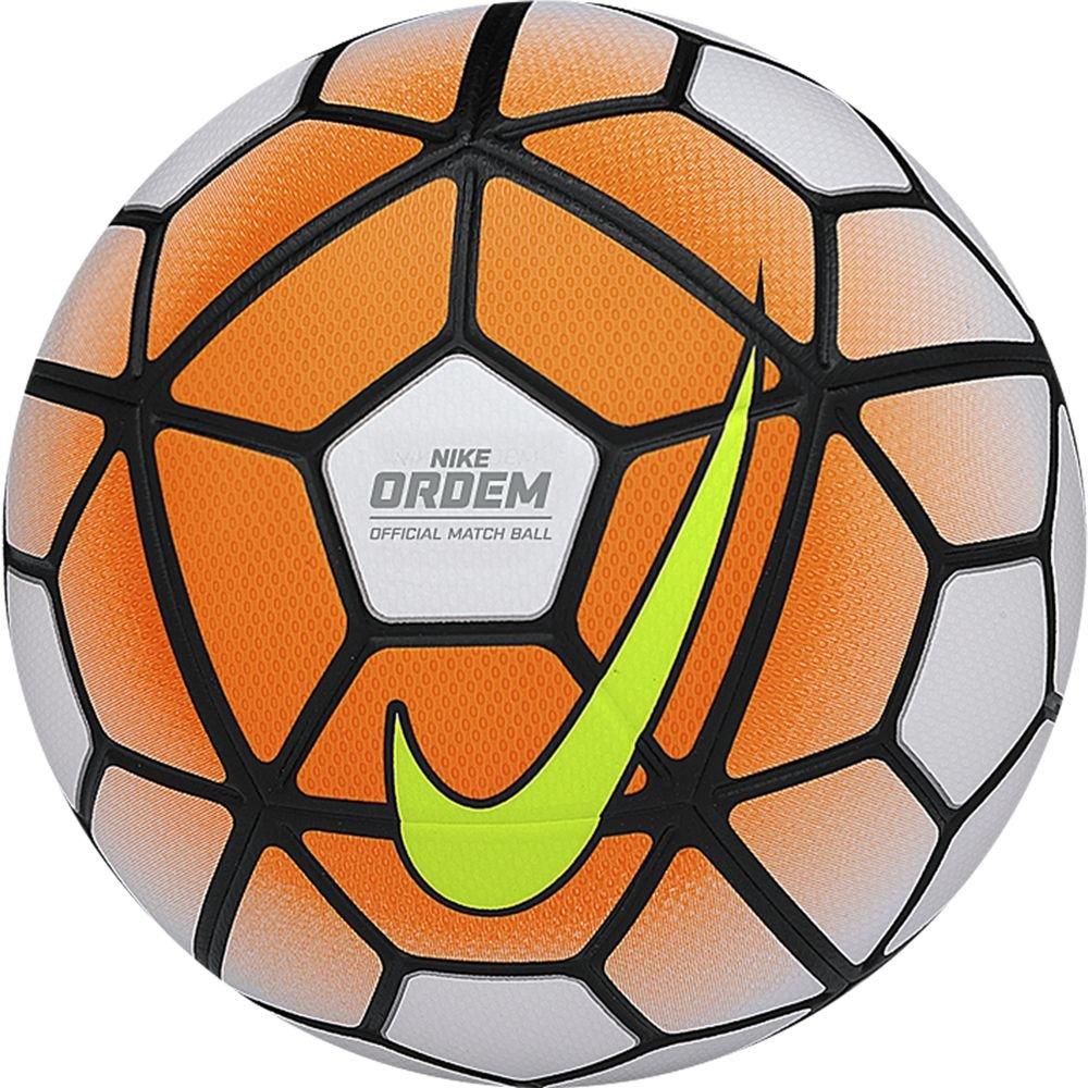 Nike Ordem III Football (White-Total Orange) B00VRJS3JSホワイト×Tオレンジ×ブラック 5号