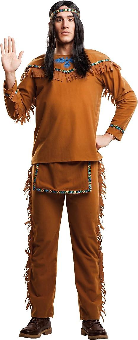 My Other Me Me-203398 Disfraz de indio velvet para hombre, M-L ...