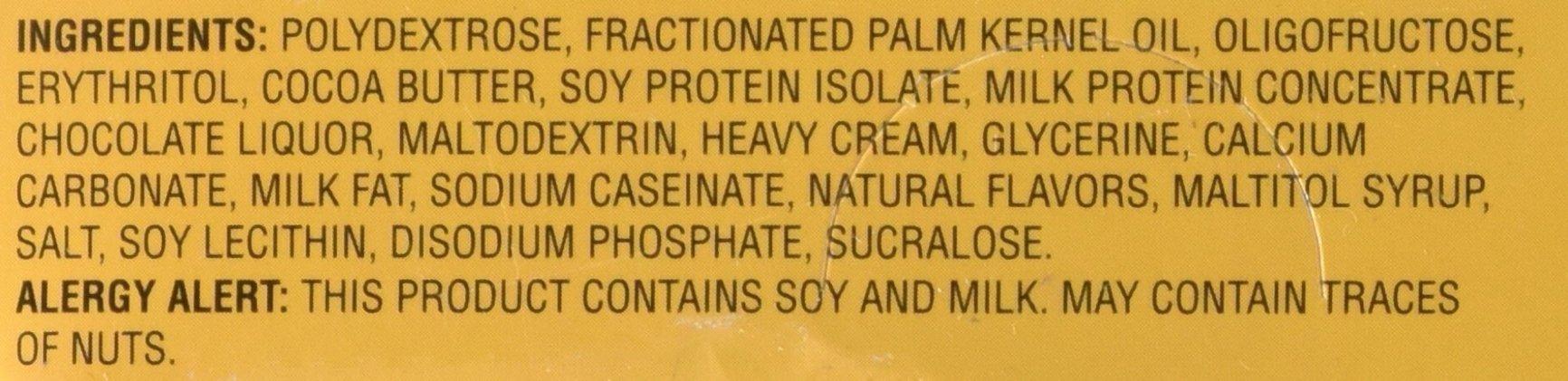 Healthsmart Chocolite Bar Chocolate Crispy Caramel -- 16- 24g(.84oz) Bars by Health Smart Foods (Image #4)