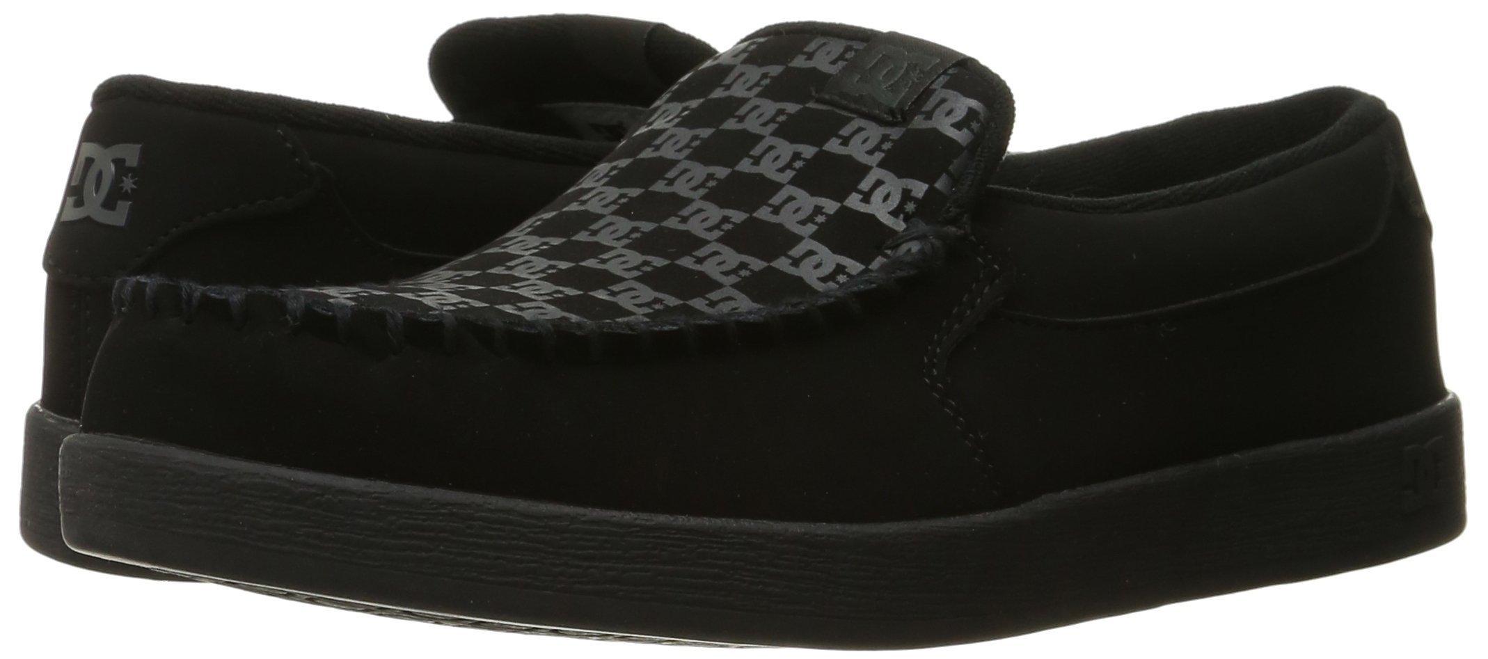 DC Men's Villain TX Slip Skate Shoe, Black Print, 10 D D US by DC (Image #6)