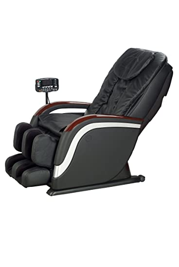 New Classic Full Body Shiatsu Massage Chair Recliner Stretched Foot Rest  EC 12