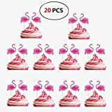 Torte Topper 24pcs Hawaiischer Cake Toppers Kuchen Dekoration Tortenstecker