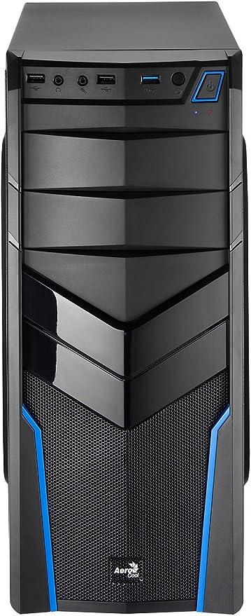 Aerocool V2X Blue Edition - Caja de Ordenador (Midi-Tower, PC ...