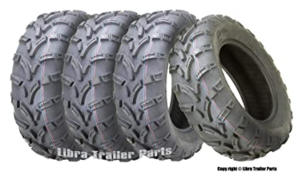 4 New WANDA ATV Tires AT 25x8-12 25x8x12 6PR//P350-10163