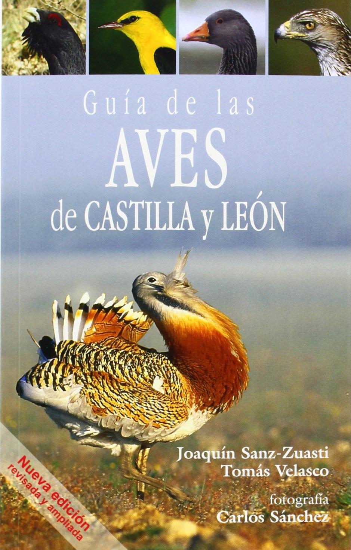 GUIA DE LAS AVES DE CASTILLA Y LEON: Amazon.es: SANZ-ZUASTI, JOAQUIN, VELASCO, TOMAS, SANCHEZ, CARLOS: Libros