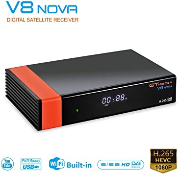 US GTMEDIA GTS V8 Nova Plus 1080P HD WIFI Digital TV Satellite Receiver DVB-S//S2