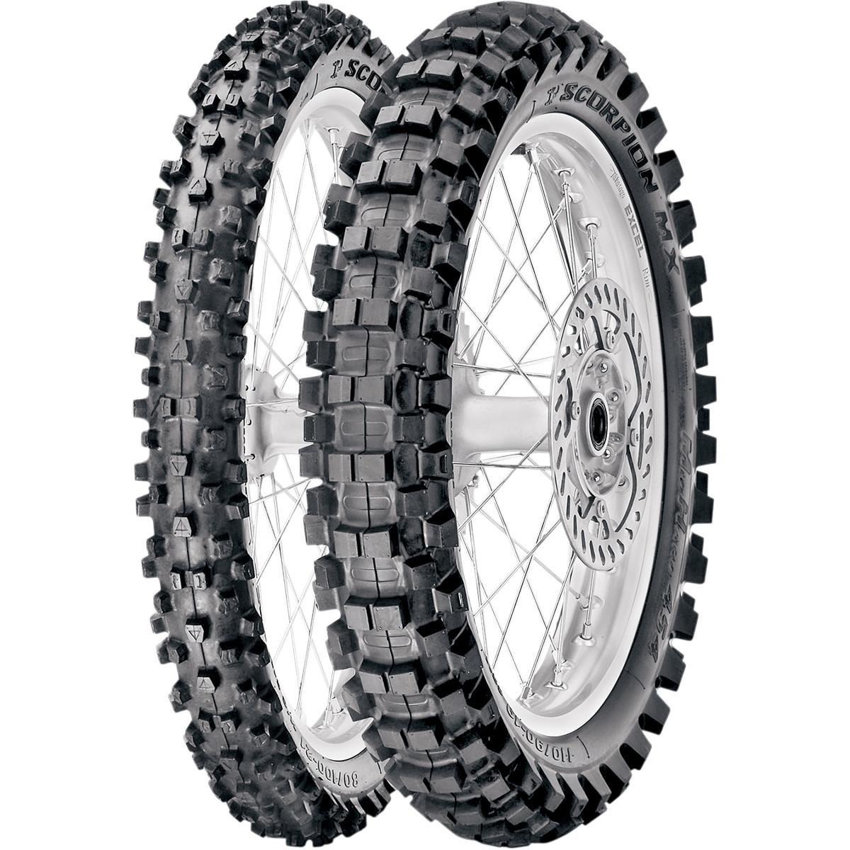Pirelli scorpion MX MID HARD 554/ /120//80/R19/63/M NHS /moto-posteriore/