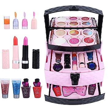 Zerodis- Estuche de Maquillaje para niñas, Maquillaje ...
