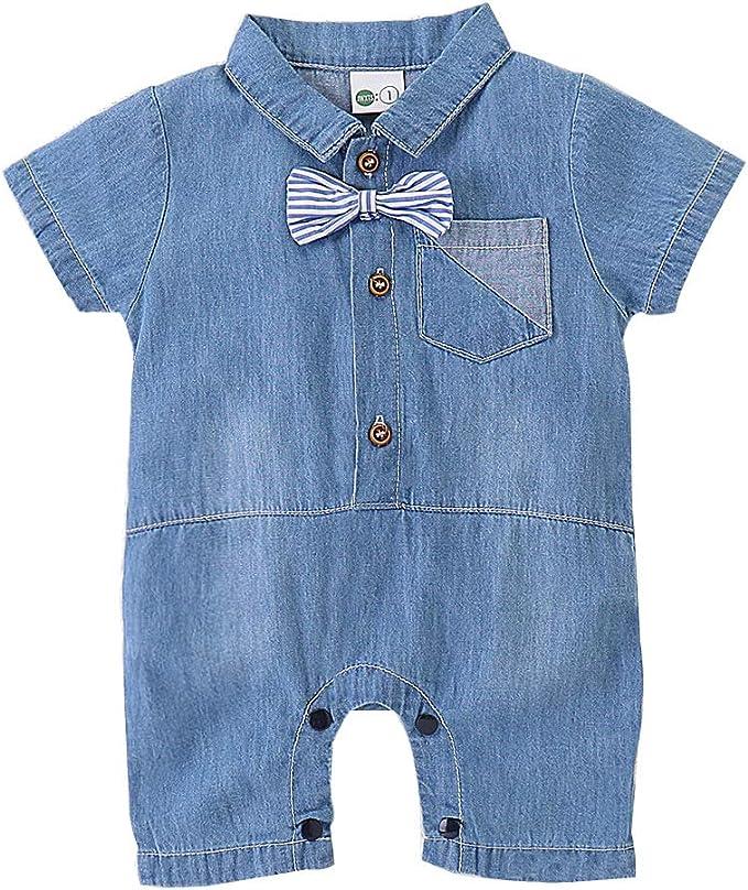 Amazon.com: YOUNGER TREE - Pantalones vaqueros para bebé ...