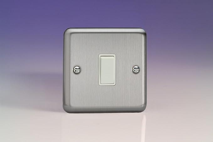 Fantastic Varilight 1G 6A Retractive Switch Bell Switch Matt Chrome Wiring 101 Tzicihahutechinfo