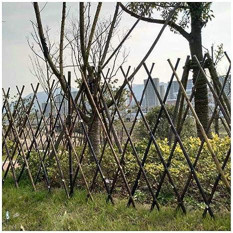 YOGANHJAT Celosia Madera Extensible Madera Pared Enrejado expansión jardín Flor Planta Escalada Valla Valla Enrejado del Sauce Decoración de balcón 180 * 60cm: Amazon.es: Deportes y aire libre