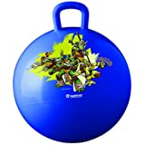 Hedstrom Teenage Mutant Ninja Turtles Hopper Ball, Blue Hop Ball for Kids, 15-Inch