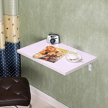 ZCJB Klapptisch Wandtisch Wand Hängende Computer Schreibtisch ...