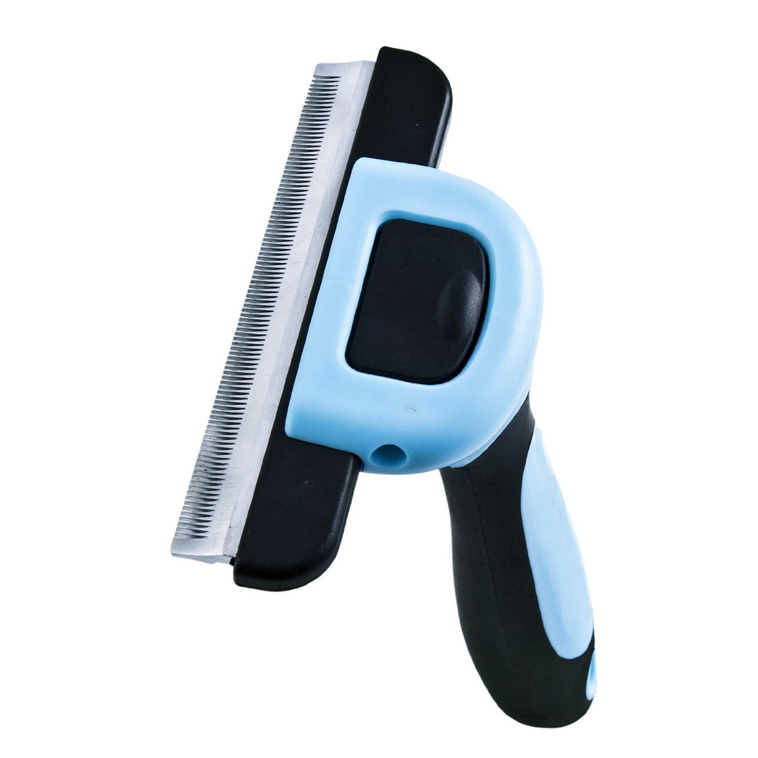Deshedding Tool & Pet Grooming Tool for Small, Medium & Large Dogs & Cats, With Short to Long Hair. Dramatically Reduces Shedding in Minutes Guaranteed! DELE Q007