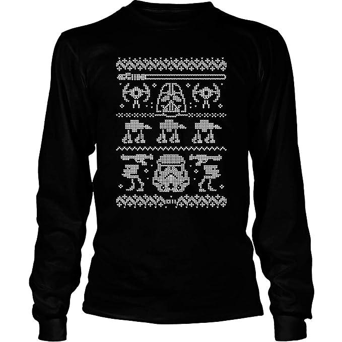 48f8138e Darth Vader Star Wars T Shirt, Darth Vader Merry Christmas T Shirt - Long  Sleeve