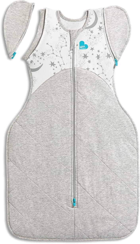 White Large 8.5kg-11kg Love To Dream Warm 50//50 Transition Bag 2.5 Tog Wearable Swaddle Blanket
