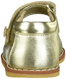 Elephantito Girls Mary Jane Flat, Gold, 11.5 M US