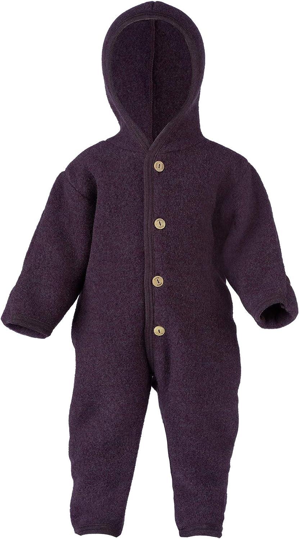 Engel Baby Overall mit Kapuze Wollfleece