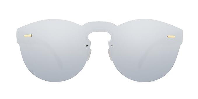 Maltessa Xion (Plata espejo) - Gafas de sol para mujer. Lo ...