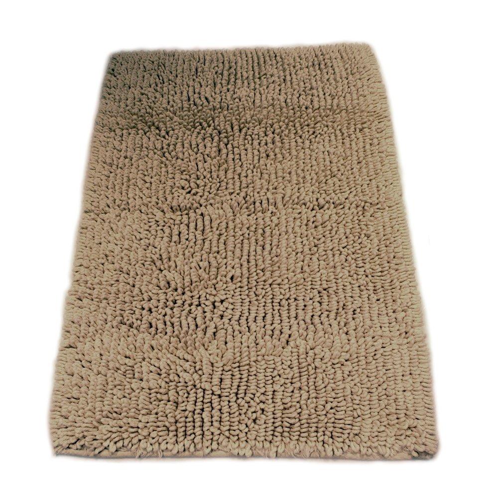 Graccioza Heavy Twist - Alfombra de baño, Natural, algodón, Savannah, Large: Amazon.es: Hogar