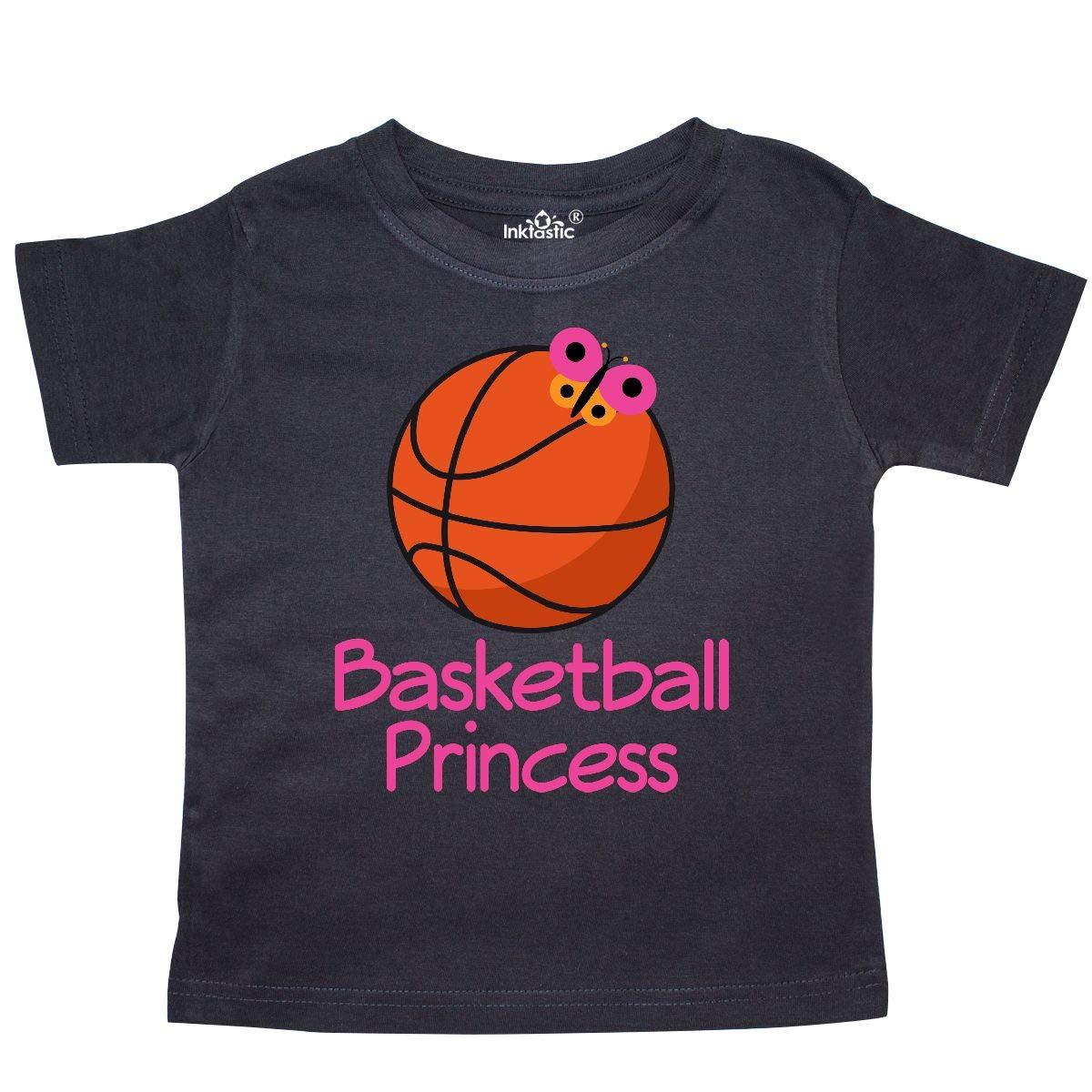 inktastic Basketball Princess Toddler T-Shirt