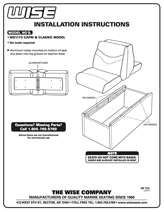Pleasing Wise Bayliner Capri And Classic Lounge Seat Caraccident5 Cool Chair Designs And Ideas Caraccident5Info
