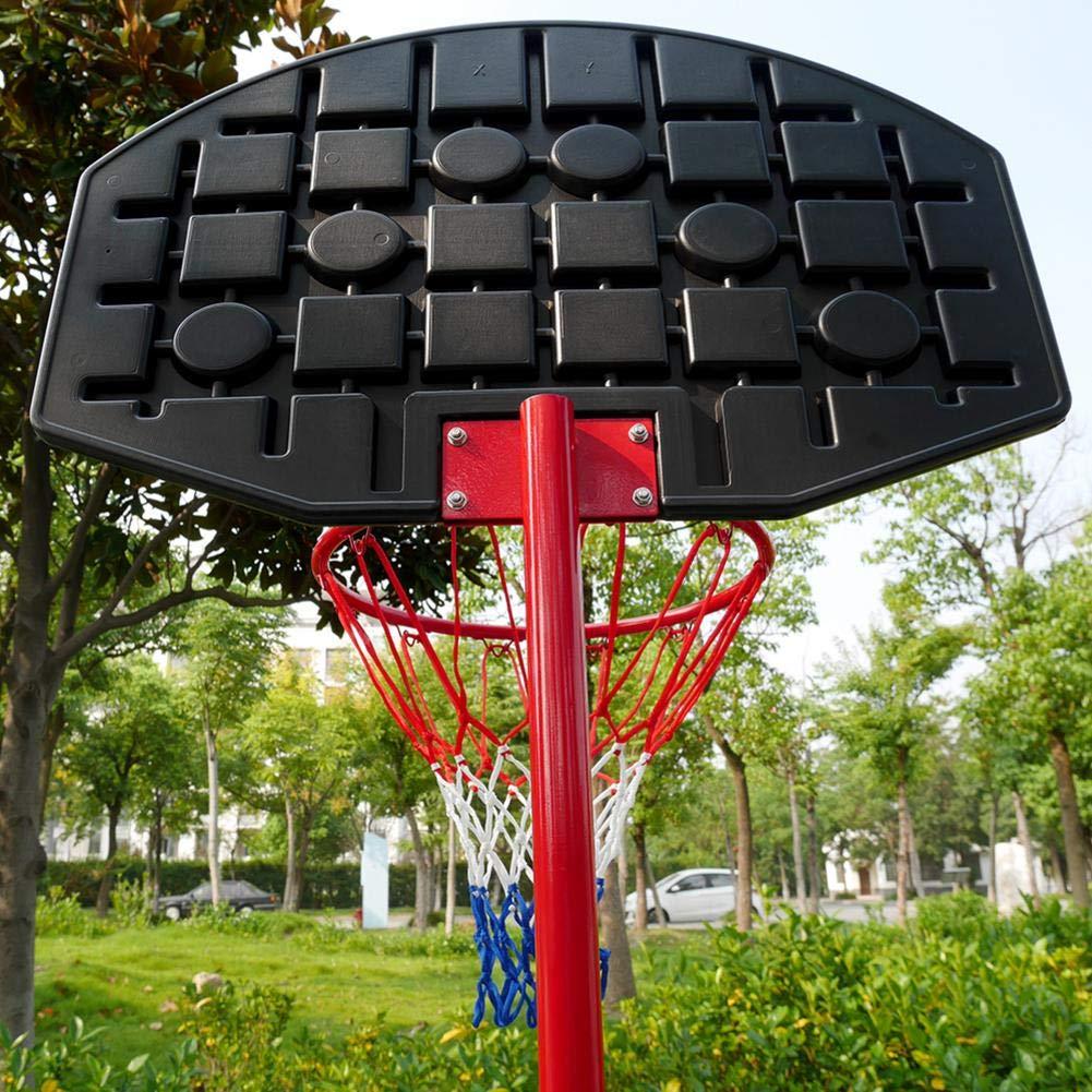 Bulary Black & Red Portable Removable Adjustable Teenager Basketball Rack by Bulary (Image #7)