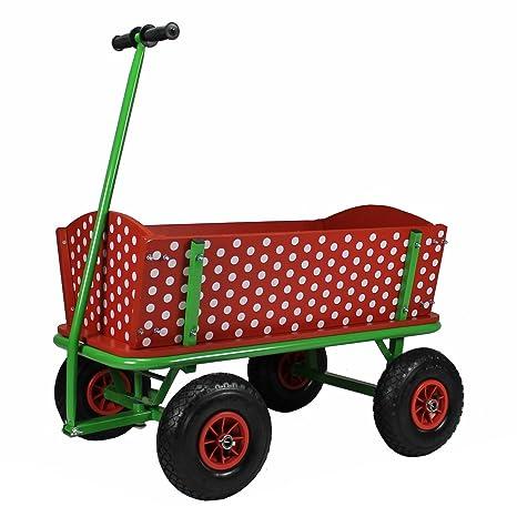Relativ Beachtrekker Style Rotkäppchen Bollerwagen: Amazon.de: Spielzeug NX15