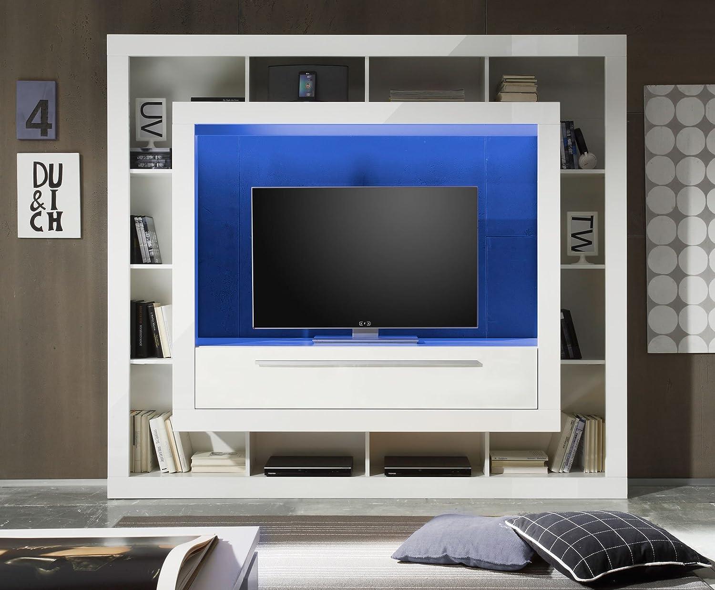 Großartig Hochwertige Wohnwand Das Beste Von Sam® Wohn Wand Medox In Weiß 196
